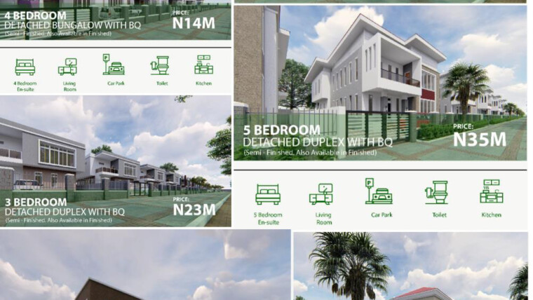 KINSTON ESTATE (Serviced Plots and Houses Available)