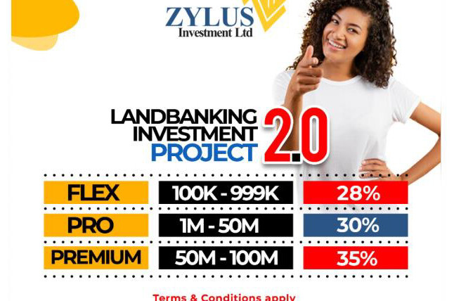 LAND BANKING INVESTMENT PROJECT 3.0 BY ZYLUS